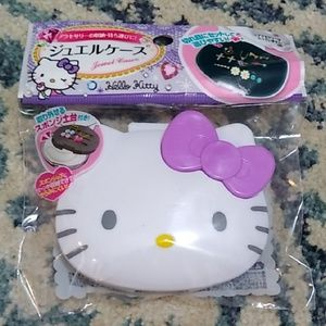 Hello Kitty travel jewelry case